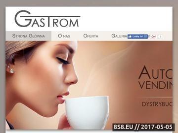 Zrzut strony Gastrom - maszyny vendingowe
