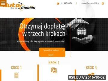 Zrzut strony Auto zastępcze z OC sprawcy w Lublinie