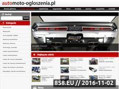 Miniaturka domeny www.automoto-ogloszenia.pl