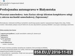 Miniaturka domeny www.autonaprawabialystok.pl