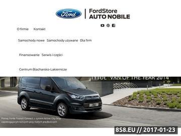 Zrzut strony Salony Forda