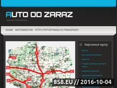Miniaturka domeny autoodzaraz.com.pl