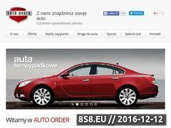 Miniaturka domeny www.autoorder.pl