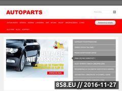Miniaturka domeny www.autoparts.com.pl