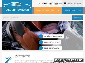 Zrzut strony AUTOPOKROWCE Pokrowce samochodowe szyte na indywidualne zamówienie