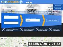 Miniaturka Pomoc drogowa Wrocław :: autopomoc24.com (autopomoc24.com)