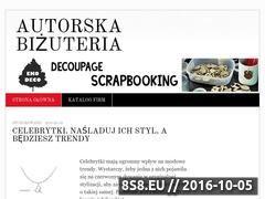 Miniaturka domeny www.autorska-bizuteria.pl