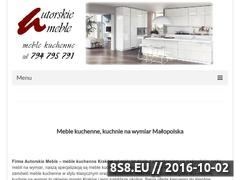 Miniaturka domeny autorskiemeble-meblekuchenne.pl