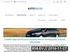 Miniaturka domeny autosalon-skupaut.pl