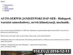 Miniaturka domeny www.autoserwis-janiszewski.net.pl