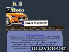 Miniaturka domeny autoserwisk2moto.pl