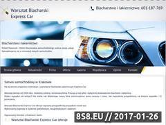 Miniaturka domeny autoserwiskrak.pl