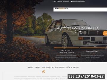 Zrzut strony Dobry warsztat samochodowy w centrum Krakowa - czynny 24h