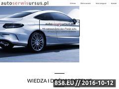 Miniaturka domeny www.autoserwisursus.pl