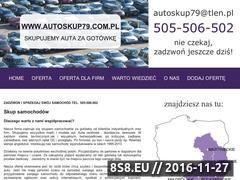 Miniaturka domeny www.autoskup79.com.pl