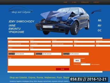 Zrzut strony Skup samochodów powypadkowych Gdańsk, Słupsk
