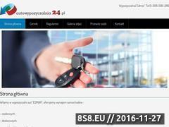 Miniaturka domeny autowypozyczalnia24.pl