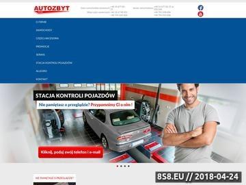 Zrzut strony Autozbyt - komis samochodowy