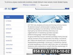 Miniaturka domeny www.aval.com.pl