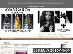 Miniaturka domeny avangarda-magazine.blogspot.com