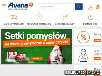 Zrzut strony Smartfony - Avans