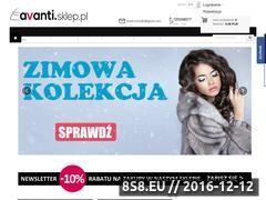 Miniaturka domeny www.avanti.sklep.pl