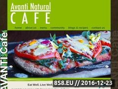 Thumbnail of Avanti Cafe Website