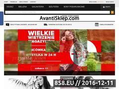 Miniaturka domeny avantisklep.pl