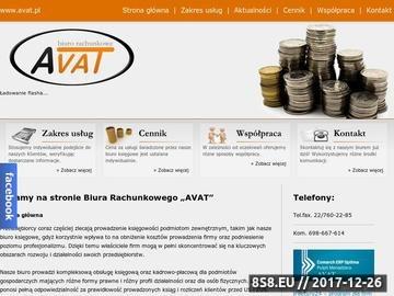 Zrzut strony Wykwalifikowana kadra AVAT