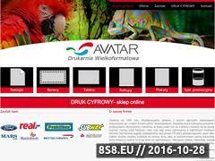 Miniaturka domeny www.avatar.pl