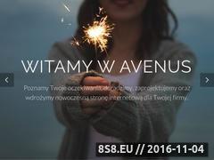 Miniaturka domeny www.avenus.pl