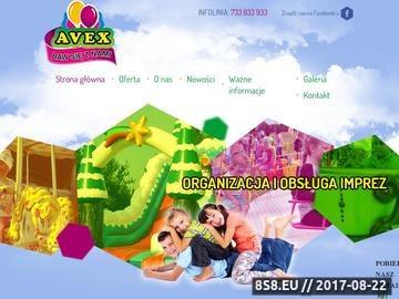 Zrzut strony Organizacja imprez dla dzieci