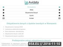 Miniaturka domeny www.avidata.pl