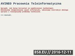 Miniaturka domeny avineo.pl