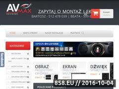 Miniaturka domeny www.avmax.pl