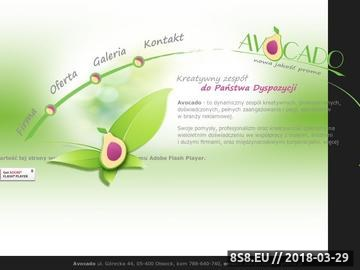 Zrzut strony AVOCADO - gadżety promocyjne