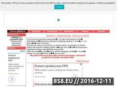 Miniaturka domeny www.awans.oswiata.org.pl