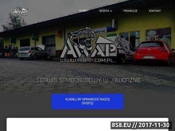 Zrzut strony AWAP - mechanika pojazdowa
