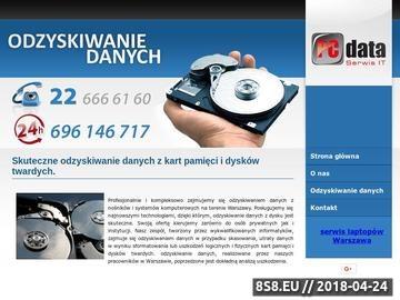 Zrzut strony Odzyskiwanie danych z dysku twardego Warszawa