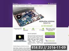 Miniaturka domeny www.awarialaptopa.pl