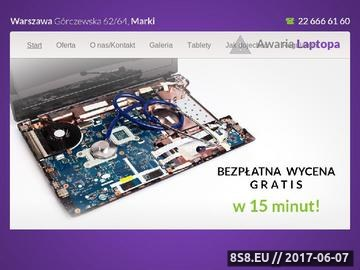 Zrzut strony Serwis laptopów Warszawa
