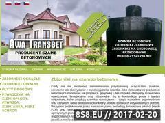 Miniaturka domeny www.awatransbet.pl
