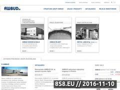 Miniaturka domeny www.awbud.pl