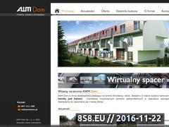 Miniaturka domeny www.awmdom.pl