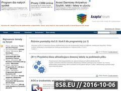 Miniaturka domeny www.axapta-forum.pl