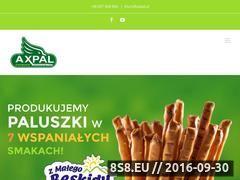 Miniaturka domeny www.axpal.pl