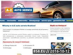 Miniaturka domeny www.az-autoserwis.pl