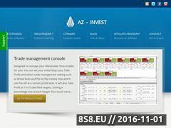 Miniaturka domeny www.az-invest.eu