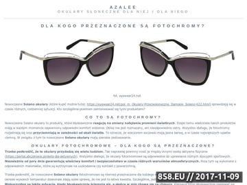 Zrzut strony Azalee.pl - prezenty i upominki