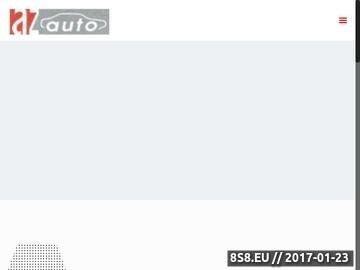 Zrzut strony Skoda serwis